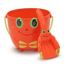 <strong>Melissa and Doug</strong> Clicker Crab Pail and Shovel
