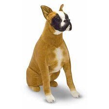 <strong>Melissa and Doug</strong> Boxer Plush Stuffed Animal