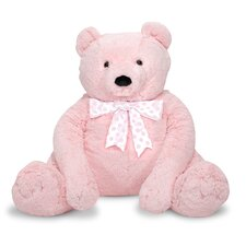 <strong>Melissa and Doug</strong> Jumbo Pink Teddy Bear