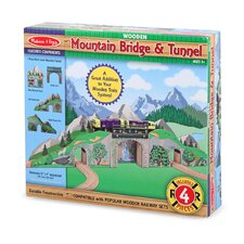 <strong>Melissa and Doug</strong> Mountain Bridge and Tunnel