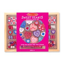 <strong>Melissa and Doug</strong> Sweet Hearts Bead Set