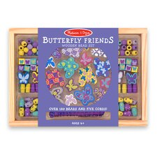 <strong>Melissa and Doug</strong> Butterfly Friends Bead Set