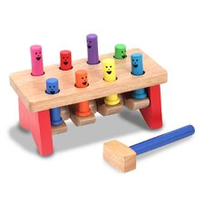 <strong>Melissa and Doug</strong> Deluxe Pounding Bench