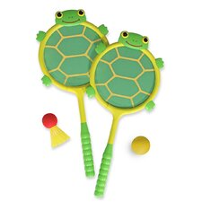 <strong>Melissa and Doug</strong> Tootle Turtle Racquet and Ball Set