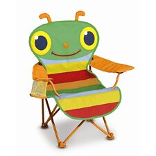<strong>Melissa and Doug</strong> Happy Giddy Kid's Directors Chairs