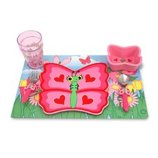 <strong>Melissa and Doug</strong> Bella Butterfly Mealtime Set