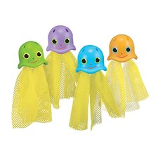 Jolly Jellyfish Sinkers Pool Toy (Set of 4)