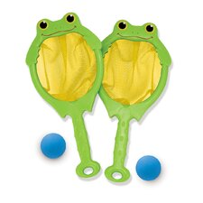 Froggy Toss, Catch Net and Ball