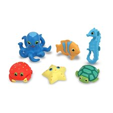 <strong>Melissa and Doug</strong> Seaside Sidekicks Creature Set