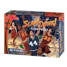 Slam Dunk! 48 Piece Floor Puzzle Set