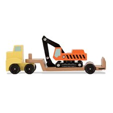 <strong>Melissa and Doug</strong> Trailer and Excavator