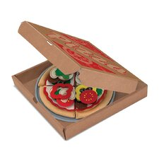 40 Piece Felt Food Pizza Set