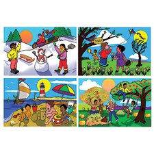 <strong>Melissa and Doug</strong> Seasons Floor Puzzle