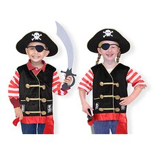 <strong>Melissa and Doug</strong> Pirate Costume Role Play Set