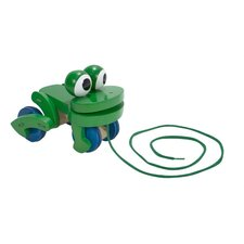 <strong>Melissa and Doug</strong> Frolicking Frog Wooden Pull Toy