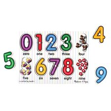 <strong>Melissa and Doug</strong> See-Inside Numbers Peg Puzzle