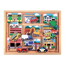 <strong>Melissa and Doug</strong> Vehicles Maze Puzzle