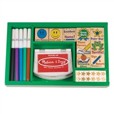 <strong>Melissa and Doug</strong> Classroom Stamp Set