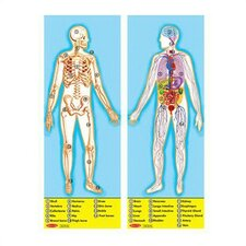<strong>Melissa and Doug</strong> Human Body Puzzle (100 pcs)