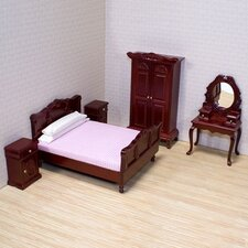 <strong>Melissa and Doug</strong> Dollhouse Bedroom Furniture