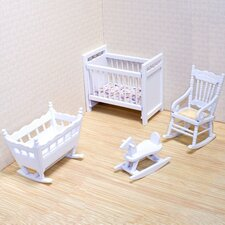 <strong>Melissa and Doug</strong> Dollhouse Nursery Furniture