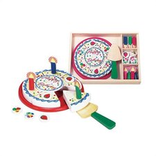 <strong>Melissa and Doug</strong> 6 Piece Birthday Party Play Set