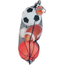 <strong>Melissa and Doug</strong> Plush Sports Balls in a Mesh Bag