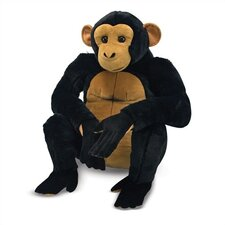 <strong>Melissa and Doug</strong> Chimpanzee Plush Stuffed Animal