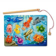<strong>Melissa and Doug</strong> Fishing Game Magnetic Puzzle