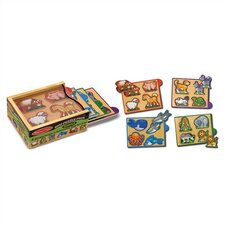 <strong>Melissa and Doug</strong> Animals Mini Puzzle Pack