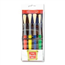 <strong>Melissa and Doug</strong> Large Paint Brush Set