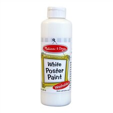White Poster Paint Bottle