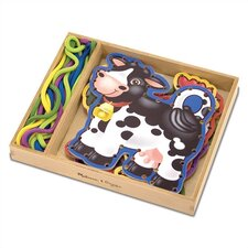 <strong>Melissa and Doug</strong> Lace & Trace Farm