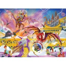 <strong>Melissa and Doug</strong> Dragon Storm Cardboard Jigsaw Puzzle