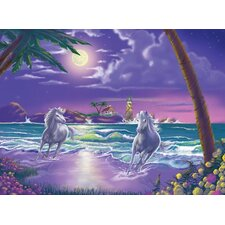 <strong>Melissa and Doug</strong> Seaside Stallions Cardboard Jigsaw Puzzle