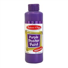 Purple Poster Paint Bottle