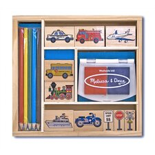 <strong>Melissa and Doug</strong> Vehicles Stamp Set