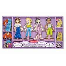 <strong>Melissa and Doug</strong> Best Friends Forever! Magnetic Dress-Up Set