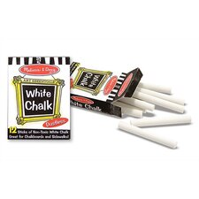 <strong>Melissa and Doug</strong> White Chalk (12 pc)