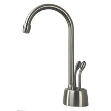 Develosah Two Handle Single Hole Instant Hot / Cold Water Dispenser Faucet