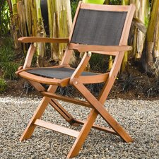 <strong>Buyers Choice</strong> Phat Tommy Sea Breeze Folding Armchair (Set of 2)