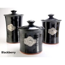 Artisans Domestic Ceramic Canister (3 Piece Set)