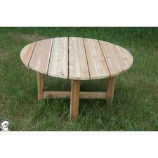 <strong>Buyers Choice</strong> Phat Tommy Round Folding Cedar Patio Table
