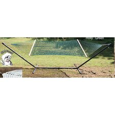 <strong>Buyers Choice</strong> PHAT TOMMY Olefin Hammock & Hammock Stand Combo