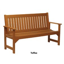 <strong>Buyers Choice</strong> Phat Tommy Metal Wood Lehigh Garden Bench