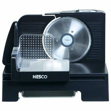 <strong>Nesco</strong> 150 Watt Slicer and Removable Motor in Black