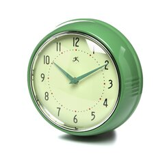 "9.5"" Retro Wall Clock"