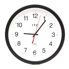 "<strong>Infinity Instruments</strong> 14"" Time Keeper Atomic Wall Clock"