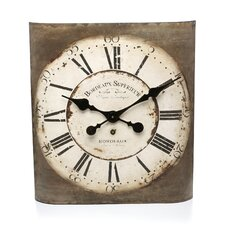 "Bordeaux 12"" Wall Clock"