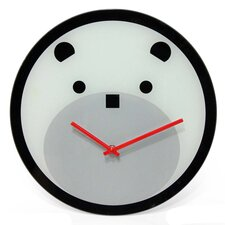 "<strong>Infinity Instruments</strong> 12"" Bearly Time Wall Clock"